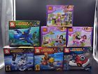 Lot of 7 sets Friends and Heros Assemble building toys fit lego all new  in bag