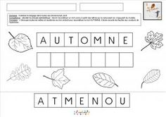 Autumn word and kite with Lili reconstituer-mot-a Learning Resources, Kids Learning, Drawing Conclusions, French Classroom, French Resources, Circle Time, Home Schooling, Homeschool Curriculum, Word Work
