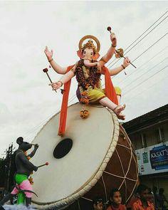 Jai Ganesh, Ganesh Lord, Ganesh Idol, Ganesh Statue, Shree Ganesh, Ganesha Art, Ganesh Ji Images, Ganesha Pictures, Krishna Radha