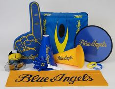 BLUE ANGELS PARTY PACK SAVE $11 by ordering the BLUE ANGELS PARTY PACK (rather than items individually)!! $36 VALUE / $25 PRICE
