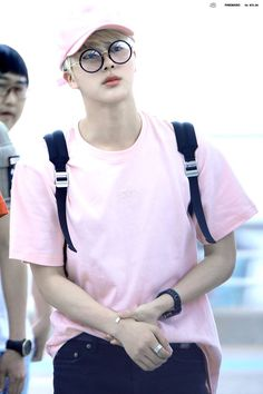 "(Fc: kim seokjin theme: pastel pink) ""hello, i'm mr."" he laughs. ""but, you can call me jin."