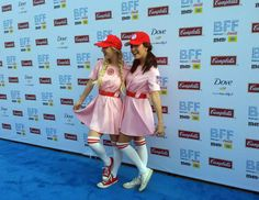 Meg & Liz at the League of Their Own tribute, Bentonville FIlm Festival May 2015