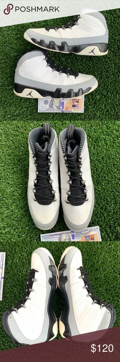 reputable site f5961 cc0ac AIR JORDAN 9 RETRO BARON SIZE 13 Excellent pre owned condition Use pictures  to judge condition!