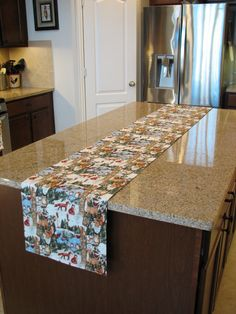 Christmas table runner farmhouse table by StylinStitchesShop