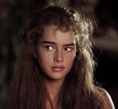 Most Beautiful People, Beautiful Models, Beautiful Women, Brooke Shields Blue Lagoon, Brooke Shields Young, Beloved Film, Mermaid Tale, Photography Filters, Thick Eyebrows