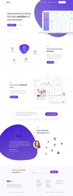 Hello Guys, Today I'm sharing an agency landing page web design concept which is modern, colorful UI and user-friendly. I hope you will like this concept