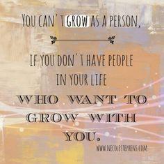 Let go of relationships that no longer serve your higher self. ...