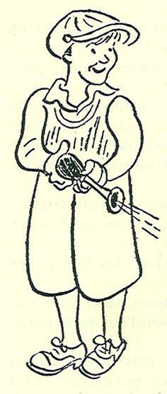 Emil und die Detektive. illustration by walter trier, 1929.