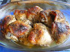 Pyszne udka kurczaka z piekarnika