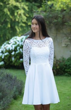 Confirmation Dresses, Classy Outfits, Boho Dress, Cute Dresses, White Dress, Gowns, Couture, Clothes For Women, Inspiration