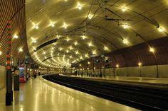 The Principality of Monacos Train Station  #infrastructure #principality #monacos #train #station #photography