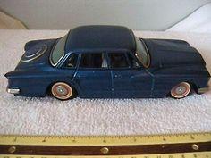 Vintage Bandai Tin Friction Toy Car Chrysler Valiant Japan  $50.00Approx NOK416.56