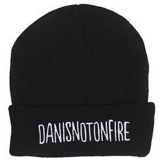 Danisnotonfire Embroided Beanie - Dan Howell Blog Vlogger Viral Fashion Fan Hat