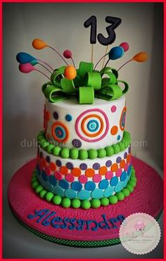 Colores Cake