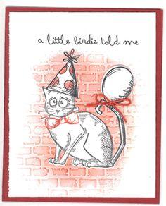 memory bound scrapbook store: Crazy Cat Cards Make-N-Take: Wednesday, May Crazy Bird, Crazy Dog, Crazy Cats, Crazy Animals, Funny Animals, Dog Cards, Bird Cards, Tim Holtz Stamps, Karten Diy