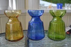 Kirppisblogi Kuusankoskelta: heinäkuuta 2015 Bulb Vase, Lassi, Mid-century Modern, Glass Vase, Mid Century, Ceramics, Aladdin, Finland, Nostalgia