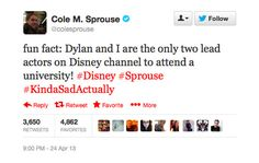 7 Reasons Why Dylan and Cole Sprouse are Awesome| DYLAN MAJORED IN VIDEOGAME DESIGN!! :)