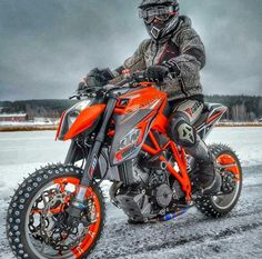 Ktm 1299 Superduke Orange