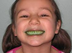 Miss Mimi's Musings: School Counseling Snippets That Bring a Smile!: Green Teeth