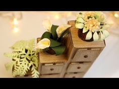 Step by step tutorials on card making and paper arts focusing on die cutting.