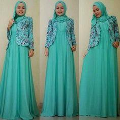Tampil Stylish Dengan Baju Muslim Bahan Jersey