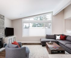 In Delta, BC, by Madeleine Design Group from Vancouver, Canada. *Re-pin to your own inspiration board* Inspiration Boards, Vancouver, This Is Us, Canada, Group, Living Room, Interior Design, Madeleine, Nest Design