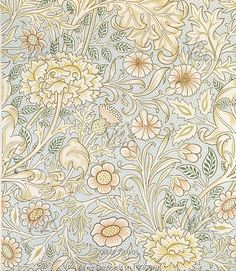 Double Bough wallpaper, by William Morris. England, late 19th century
