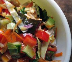 Ginger Three-Flavor Turkey Salad