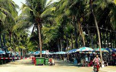 https://flic.kr/p/QKjFKs | Bangsaen beach Thailand