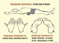 Убрать живот и выпрямить спину — Японский метод