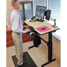Attrayant Ergotron 45 360 026 LX Sit Stand Desk Mount LCD Arm | ErgoTron Products |  Pinterest | Desks