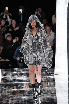 See the Fenty Puma by Rihanna autumn/winter 2016 collection. Click through for full gallery at vogue.co.uk