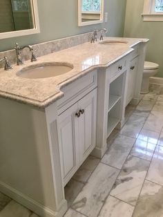 For your future master bath. All you need is a cabinet on the top of it in the middle.