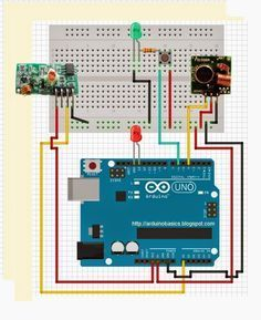 Arduino Basics: 433 MHz RF module with Arduino Tutorial 4:  Copy RF signals and…