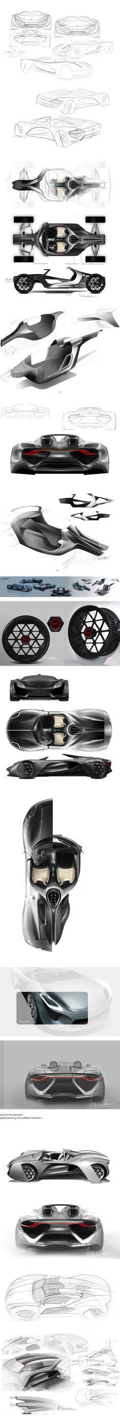 Porsche 919 project on Behance