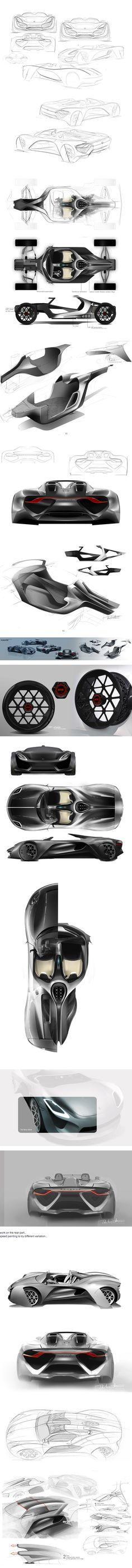 Porsche 919 project on Behance