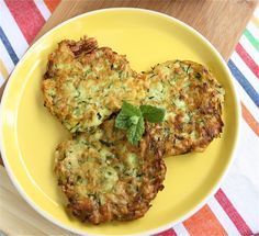 Zucchini Fritters from Fresh from A Big Mouthful