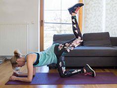 Top 6 Po Übungen für zu Hause, die dein Leben verändern