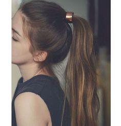 purple hair / pastel hair / girl / mood / feeling / growing hair / long hair / v… - Hair Style Summer Hairstyles, Pretty Hairstyles, Ponytail Hairstyles, Hairstyles Haircuts, Scene Hairstyles, Long Haircuts, Dreadlock Hairstyles, Black Hairstyles, Wedding Hairstyles
