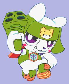 Chibi kumamon by extyrannomon Character Concept, Character Art, Character Design, Concept Art, Digimon Cosplay, Digimon Wallpaper, Digimon Frontier, Digimon Digital Monsters, Samurai Champloo