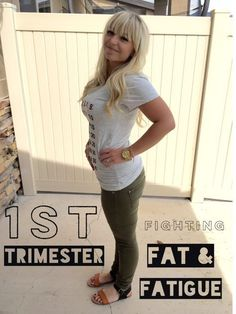 395a8677f4 10 Ways to Deal with the First Trimester - when you re feeling fat
