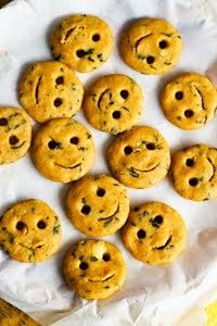 Smiley Potato Fries - How cute!