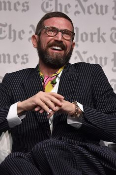 Linked with the top job at Armani, Stefano Pilati is a free agent again, what will he do next? http://vogue.uk/3VjABQ