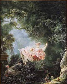 les hasards heureux de l'escarpolette Jean Honore Fragonard