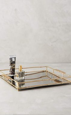 Brass Bamboo Tray #a