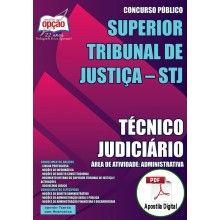 Apostila Digital Concurso STJ 2015 - Técnico Judiciário - Área de Atividade: Administrativa