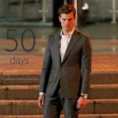 50 days till the world premiere of Fifty Shades of Grey. The excitement is palpable. We are almost there fifty fans! #berlin _____________________________ #jamiedornanischristiangrey #fiftyshadesmovie #Padgram