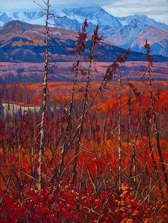 Dominik J Modlinski Artwork in Canada House Gallery Painting Videos, Painting Process, Landscape Art, Landscape Paintings, Landscapes, Paintings For Sale, Original Paintings, Painting Studio, Canadian Artists