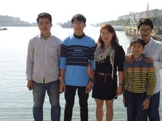 Mrs Hong et al Halong Bay Vietnam