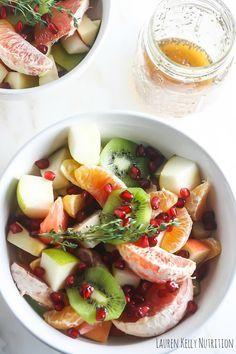 winter fruit salad with ginger chia dressing winter fruit salad fruit ...